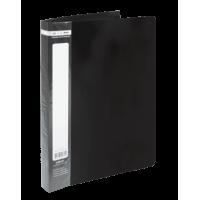 Папка з 60 файлами А4, Jobmax (чорний) bm.3621-01