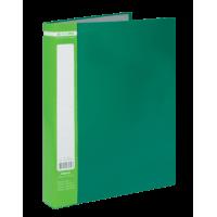 Папка с 60 файлами А4, Jobmax (зеленый) bm.3621-04