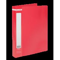 Папка з 60 файлами А4, Jobmax (червоний) bm.3621-05