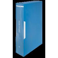 Папка з 80 файлами А4, в пластиковому чохлі (синій) bm.3628-02