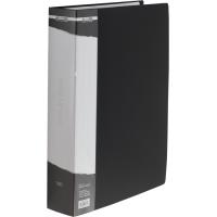 Папка зі 100 файлами А4, в пластиковому чохлі (чорна) bm.3633-01
