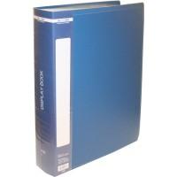 Папка зі 100 файлами А4, в пластиковому чохлі (синя) bm.3633-02