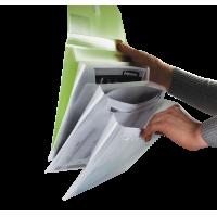 Папка-конверт на липучці А4 (асорті) bm.3707-99