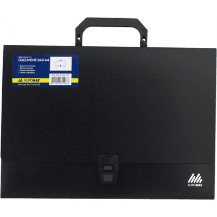 Портфель на 1 відділення (чорний) bm.3724-01