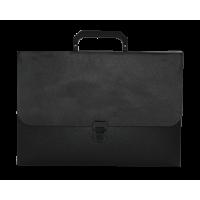 Портфель на 1 отделение Jobmax (черный) bm.3735-01