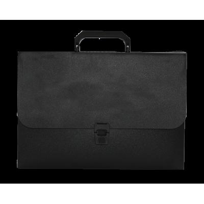 Портфель на 1 відділення Jobmax (чорний) bm.3735-01
