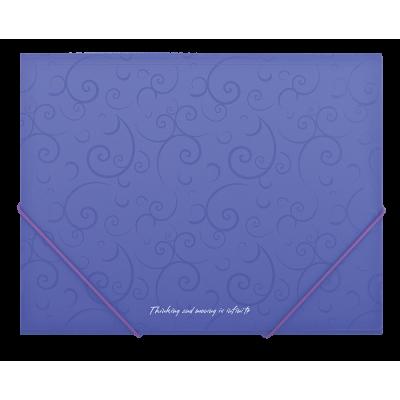"""Папка на резинках А5 """"Barocco"""" (фиолетовый) bm.3902-07"""