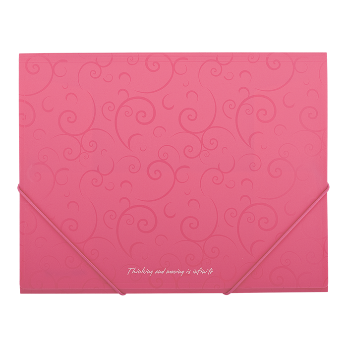 "Папка на гумках А5 ""Barocco"" (рожевий) bm.3902-10"