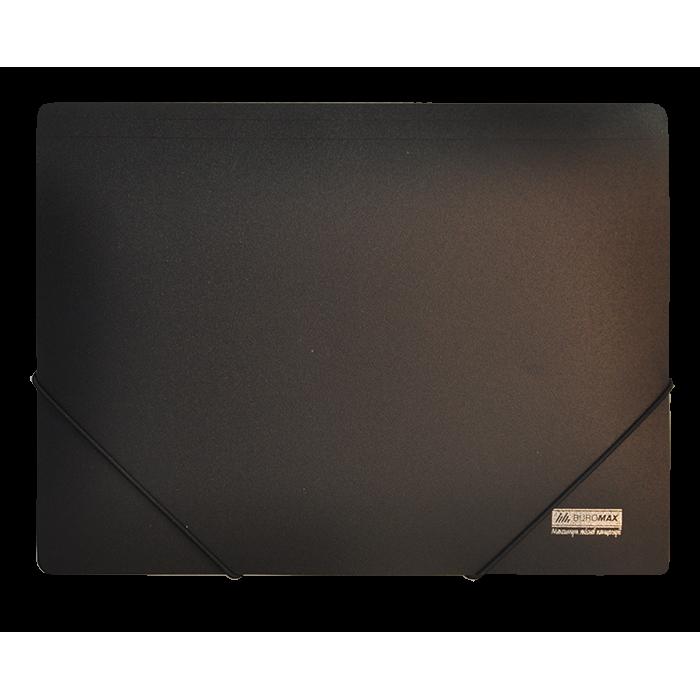 Папка на гумках А4 Jobmax (чорний) bm.3911-01