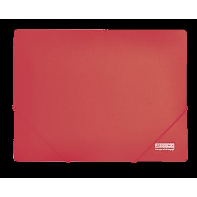 Папка на резинках А4 Jobmax (красный) bm.3911-05