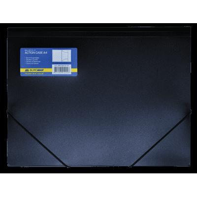 Папка на резинках А4 (черная) bm.3913-01