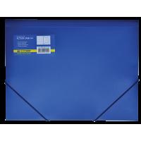 Папка на гумках А4 (синя) bm.3913-02