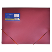 Папка на гумках А4 (червона) bm.3913-05
