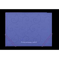 """Папка на гумках А4 """"Barocco"""" (фіолетовий) bm.3914-07"""