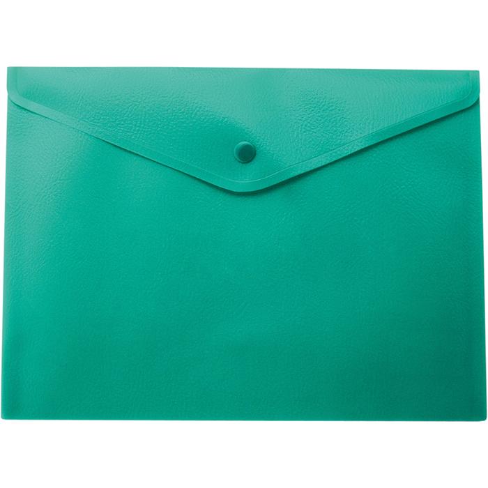 Папка-конверт на кнопке А4 (зеленая) bm.3925-04