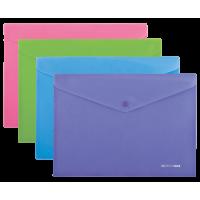 Папка-конверт на кнопці А4 Barocco (асорті) bm.3928-99