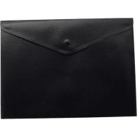 Папка-конверт на кнопці А5 (чорна) bm.3935-01
