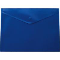 Папка-конверт на кнопці А5 (синя) bm.3935-02