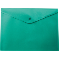 Папка-конверт на кнопці А5, зелена bm.3935-04