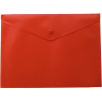 Папка-конверт на кнопці А5 (червона) bm.3935-05