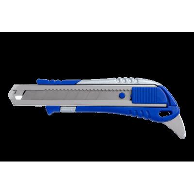 Нож универсальный с дополнительным ножом 18мм. bm.4621