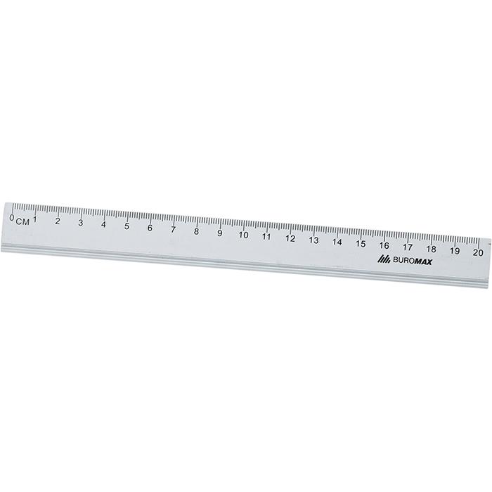 Лінійка алюмінієва 20см. bm.5800-20