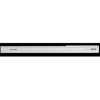 Лінійка пластикова 50см, прозора  bm.5826-50