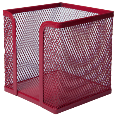 Бокс для бумаги (красный) bm.6215-05