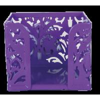 Бокс для паперу Barocco металевий (фіолетовий) bm.6216-07