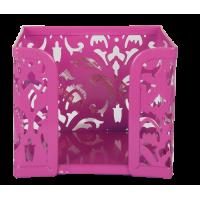 Бокс для паперу Barocco  (рожевий) bm.6216-10