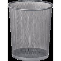 Корзина для бумаг круглая (серебряный) bm.6270-24