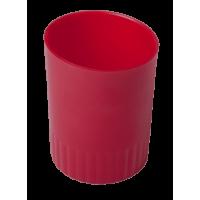 Стакан для письмового приладдя (червоний) bm.6351-05