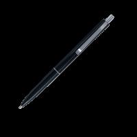 Ручка кулькова автоматична LOGO2U (чорний корпус/пише синім) bm.8239-01 (50)