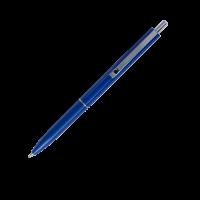 Ручка кулькова автоматична LOGO2U (синій корпус/пише синім) bm.8239-02 (50)