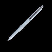 Ручка кулькова автоматична LOGO2U (білий корпус/пише синім) bm.8239-12 (50)