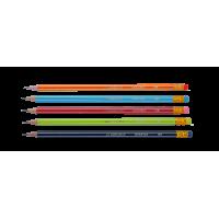Карандаш графитный с ластиком НВ Graphitete bm.8503 (12)