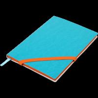Блокнот діловий Lolipop А5, 96арк. блакитний (лінія) BM.295203-14