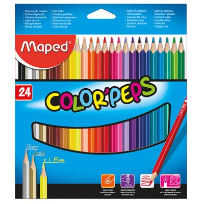 Олівці кольорові Color Peps Classic (24 кольори) МР.183224