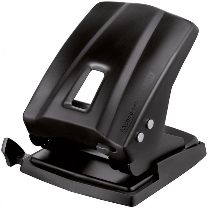 Дырокол Essential Metal (40/45 листов) черный MP.404411