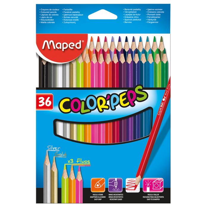 Олівці кольорові Color Peps Classic (36 кольорів)  MP.832017