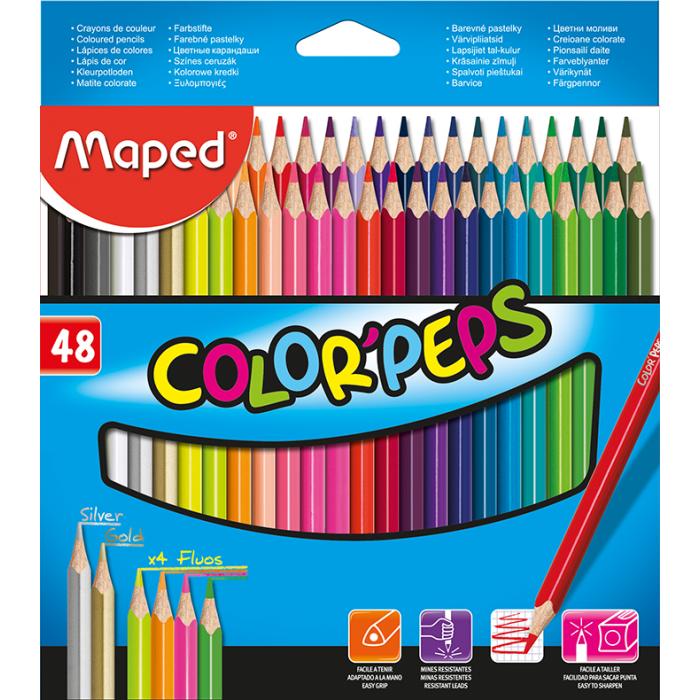 Олівці кольорові Color Peps Classic (48 кольорів) MP.832048