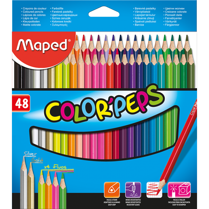 Карандаши цветные Color Peps Classic (48 цветов) MP.832048
