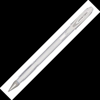 Ручка гелева UNI-Ball Angelic Colour (білий) UM-120AC
