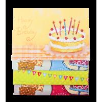 Заготовка для открыток Birthday 10,5х14,8см.