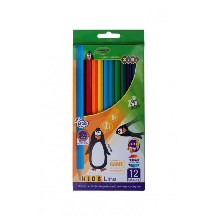 Олівці кольорові Kids Line (12 кольорів) ZB.2414