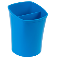 Подставка для ручек на 2 отделения (синий) ZB.3001-02