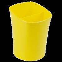 Подставка для ручек на 2 отделения (желтый) ZB.3001-08