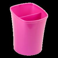 Подставка для ручек на 2 отделения (розовый) ZB.3001-10