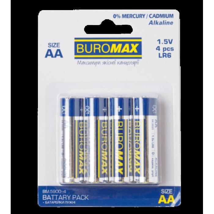 Батарейка LR6 (AA) 4шт/упак