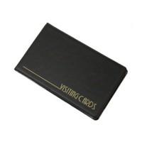 Візитниця для 24 візиток PVC (чорний) 0304-0001-01